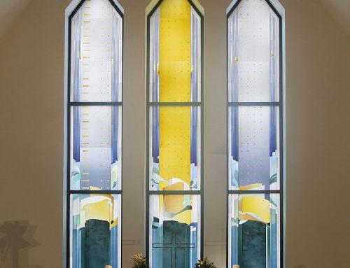 Tripartite Altar Window St. Nikolai Church