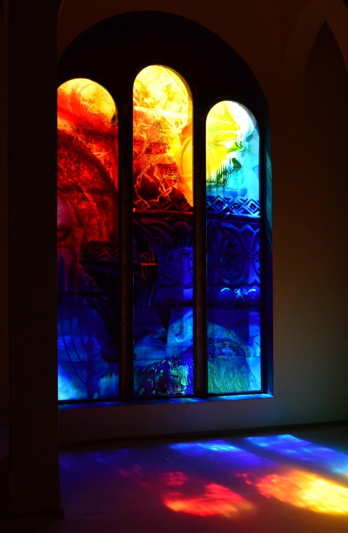 Fenstergestaltung Synagoge Bad Kreuznach - René Blättermann