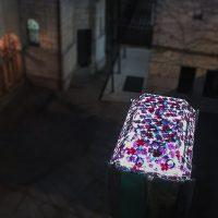 Glaskunst - Glasbaldachin von Susanne Krell in Bern