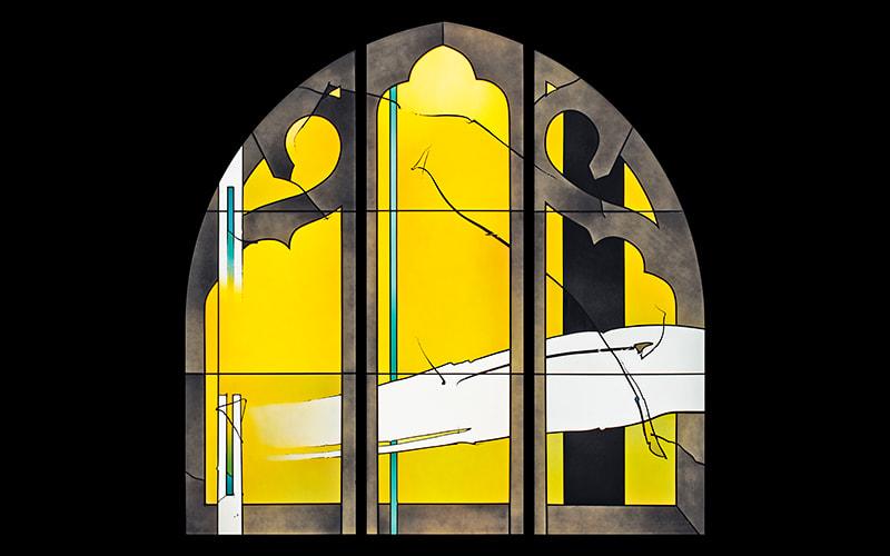 Glaskunst von Johannes Schreiter