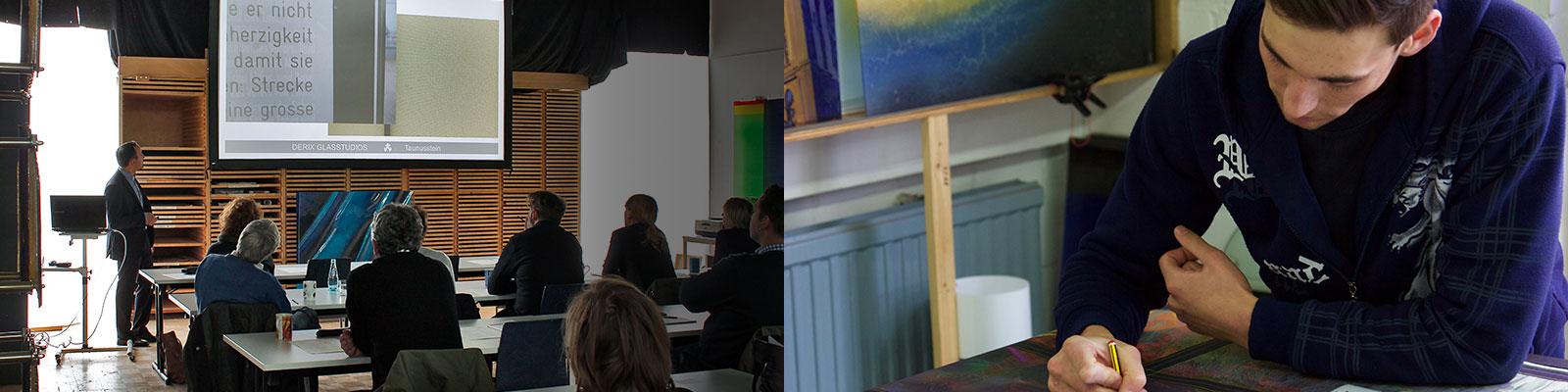 Seminare & Karriere bei den DERIX GLASSTUDIOS in Taunusstein