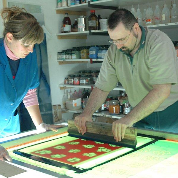 Glas bedrucken | Glasmalerei DERIX GLASSTUDIOS
