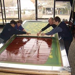 Painting Glass Color | Glasmalerei DERIX GLASSTUDIOS
