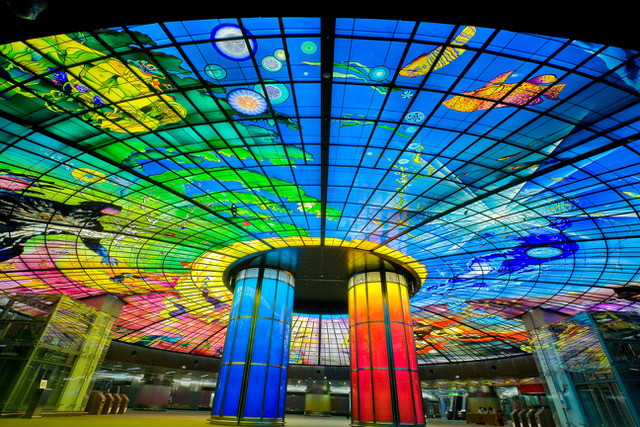 """The Dome Of Light"" feiert 10-jähriges Jubiläum - Glaskuppel von Narcissus Quagliata"
