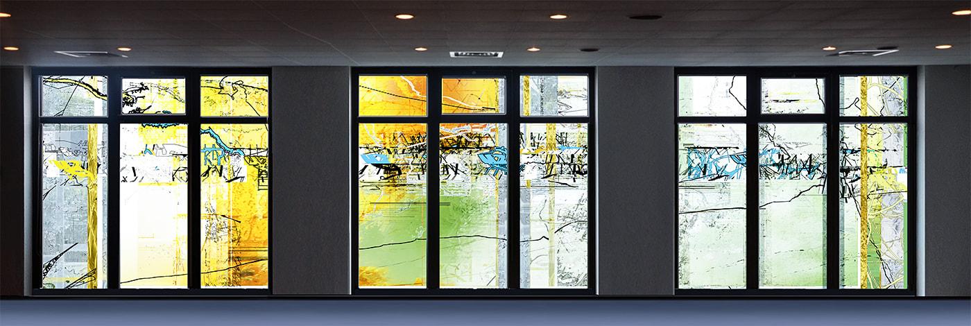 Projekt von Lukas Derow: Kappellenfenster Augustinum Stuttgart-Sillenbuch