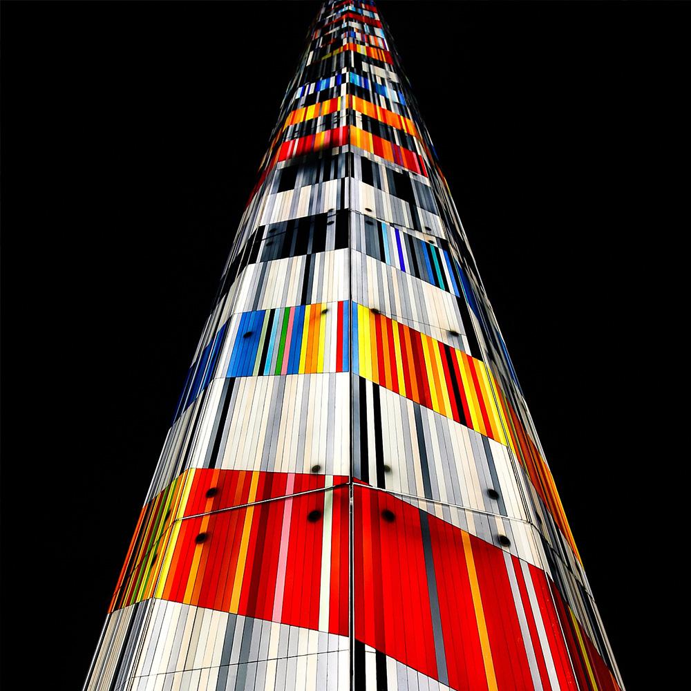 Glasturm Ascent in Lincoln | Glaskunst DERIX GLASSTUDIOS
