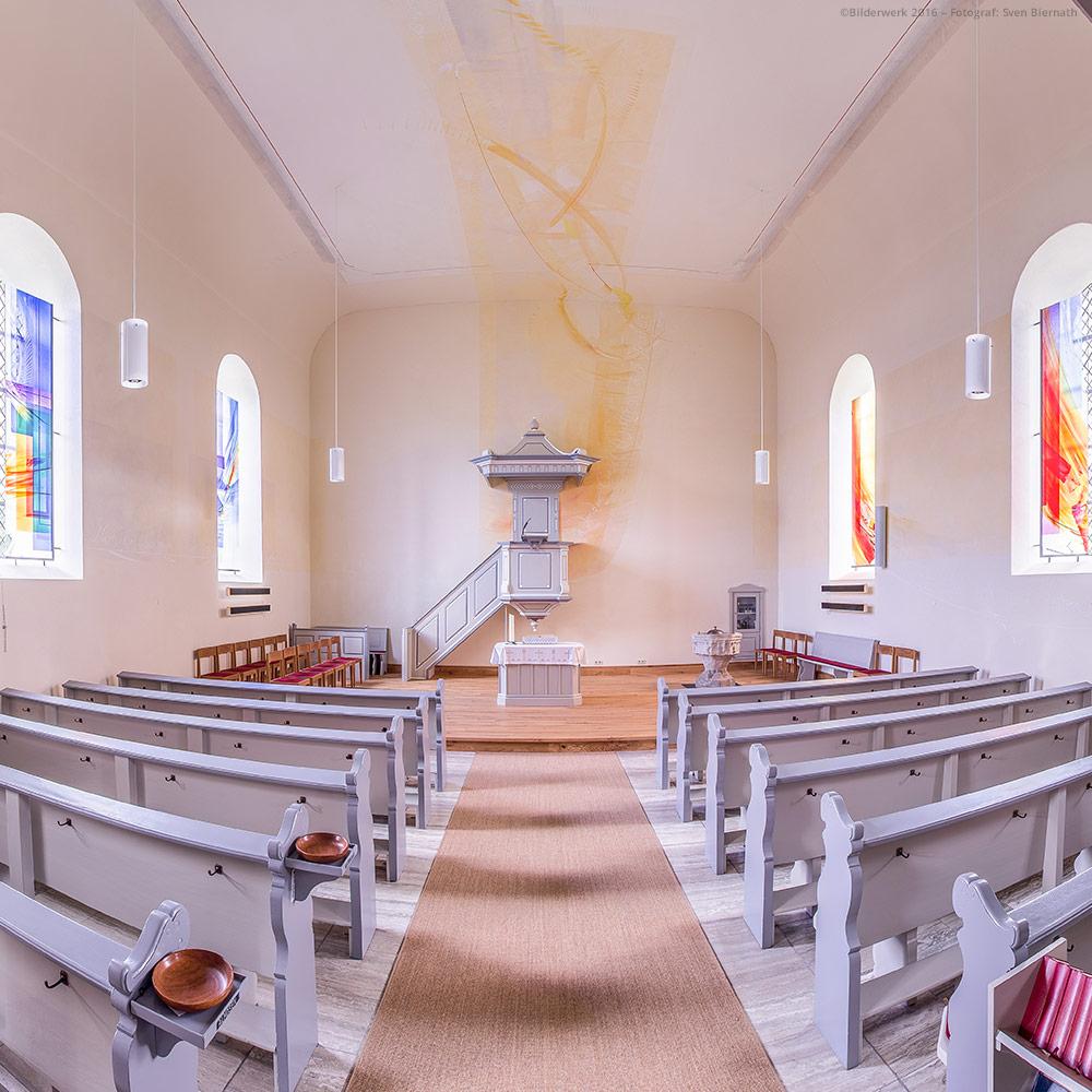 Glaskunst für die evangelische Kirche Ohlweiler | DERIX GLASSTUDIOS Taunusstein