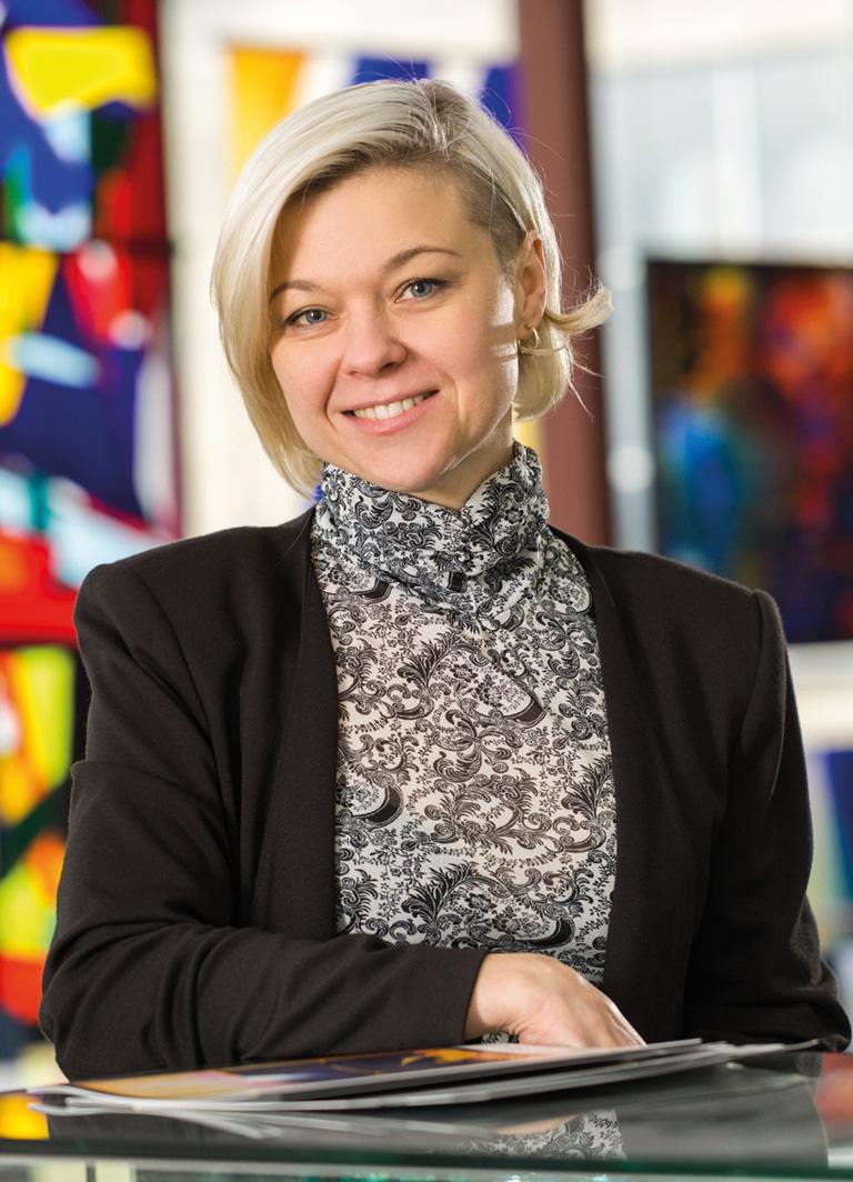 Ansprechpartner DERIX Glasstudios: Celina Szelejewska-Pigulla