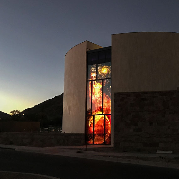 Glasmalerei für das Franciscan Renewal Center in Scottsdale